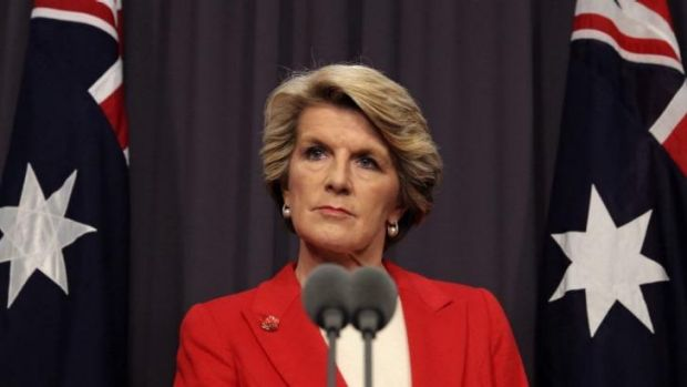 Foreign Affairs Minister Julie Bishop is expected to release performance benchmarks for aid.