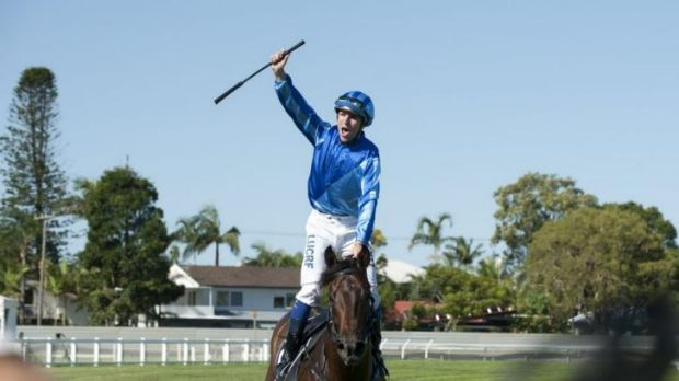 Retired: Unencumbered with the late Nathan Berry up after winning the Magic Millions Classic on the Gold Coast in January.