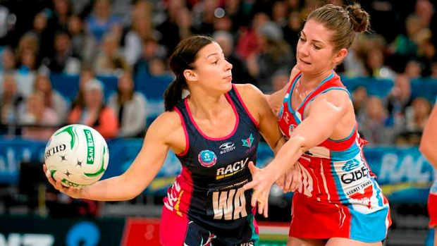 Arm's length: The Vixens have the edge on the chasing pack, including the Swifts.