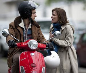 Takes two: Valeria Bruni Tedeschi and with Louis Garrel in <i>A Castle in Italy</i>.