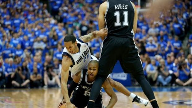 Patty Mills played his role as the Spurs headed to the Western Conference finals