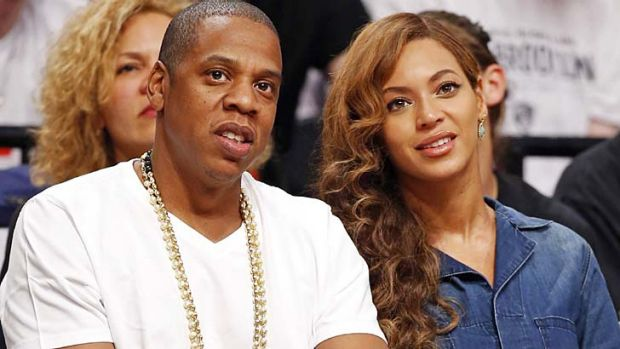 New top earner: Beyonce, with husband Jay-Z.