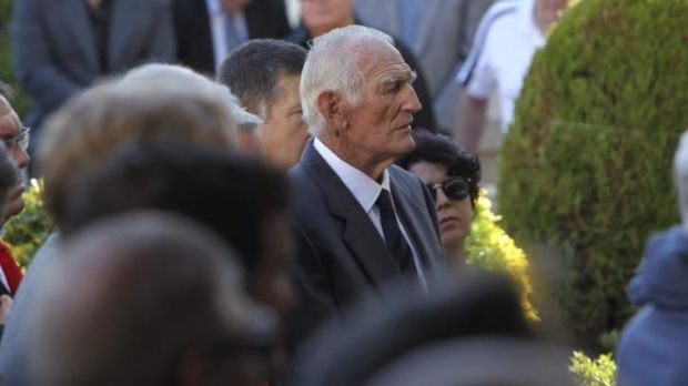 Norm Provan was among the mourners.