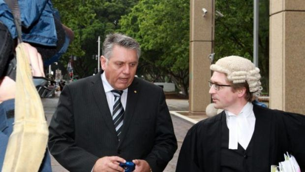 Ray Hadley: struggling with having his private life played out in public.