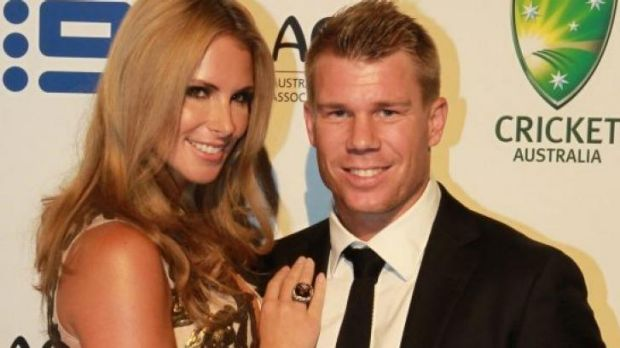 Expecting: Candace Falzon and David Warner.