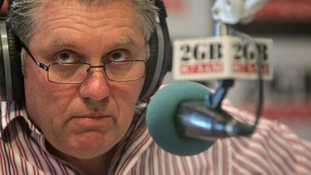 Radio host Ray Hadley.