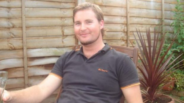 Matthew Fuller was working in a ceiling and was believed to have struck the mains power.