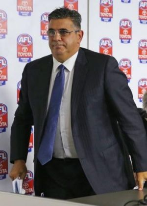 """Andrew Demetriou received plenty of feedback from the community about Good Friday footy, including """"a couple of ..."""