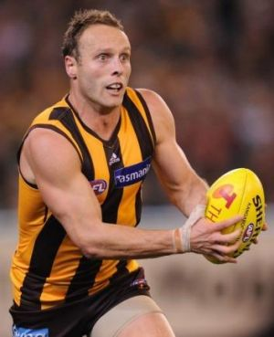 Road back: Brad Sewell returns on Saturday with the Box Hill Hawks.