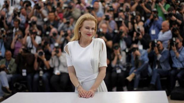 Worthy of more respect from the media: Nicole Kidman attends the Cannes film festival.