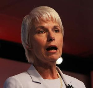 Unloading stock: Westpac chief executive Gail Kelly.