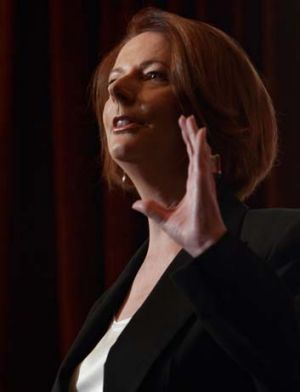 Charged taxpayers $15,000 to fly two mid-level union officials to Moscow: Former PM Julia Gillard.