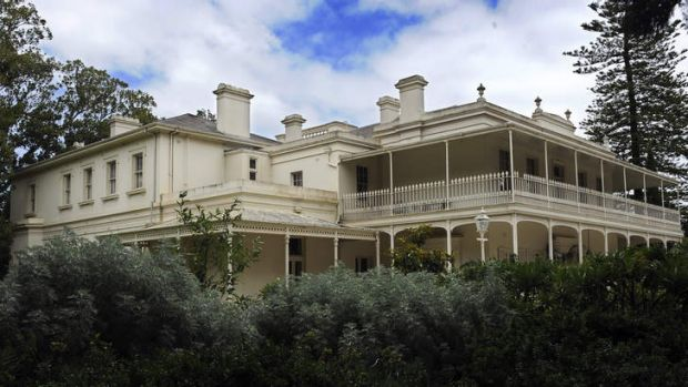 The grounds of Como House could become a high-end housing estate.