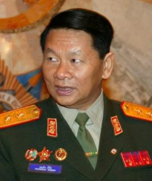 Laotian Defence Minister Douangchay Phichit believed killed in an air crash.