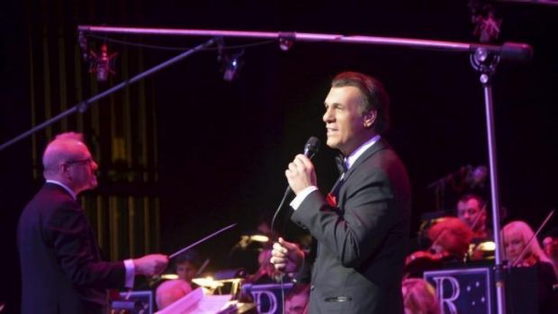 First love: actor Robert Davi revisits his musical past with the jazz festival performance <i>Davi Sings Sinatra</i>.