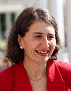 "Promised she would spend $40 million on a ""park and travel safety program"": Transport Minister Gladys Berejiklian."