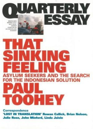 <i>That Sinking Feeling</i>, by Paul Toohey.