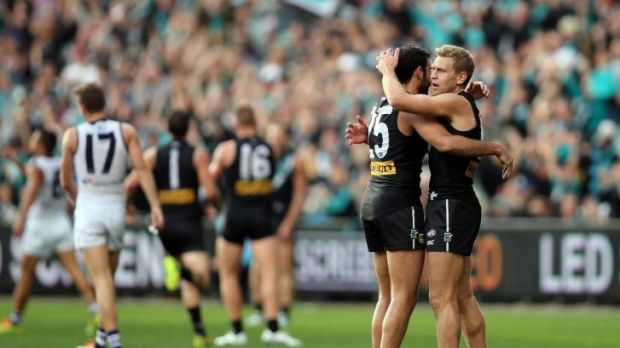 The Power has gone from a finish of 14th less than two years ago to flag contender.