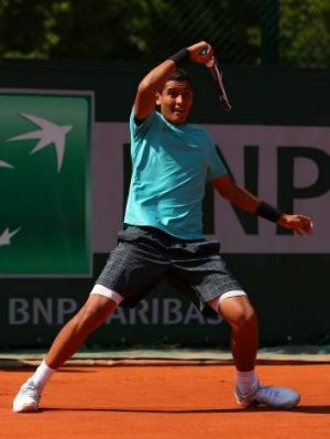 Nick Kyrgios returns to the French Open next week after a great debut there last year.