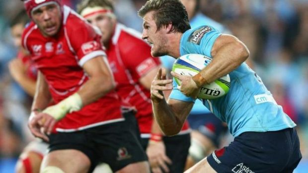 On the up: Rob Horne was unstoppable against the Lions.