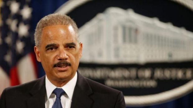 US Attorney-General Eric Holder announces a grand jury has charged five Chinese hackers.
