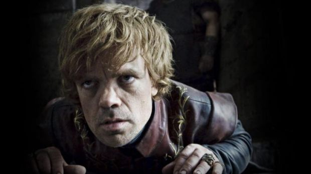 After Jaime Lannister and Bronn say they will not fight for him, Tyrion Lannister (Peter Dinklage) is lucky to find a ...