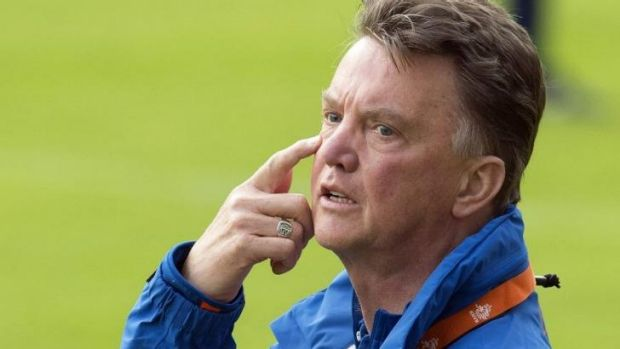 New man in charge: Louis van Gaal.