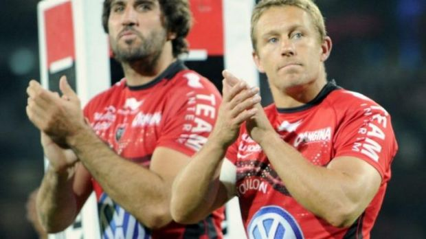 Wilkinson may take up a coaching position with Toulon.