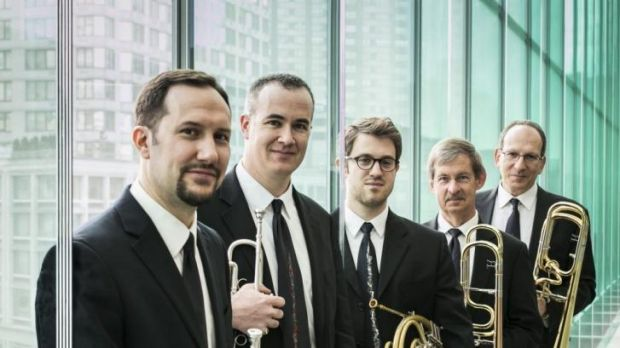 The American Brass Quintet.