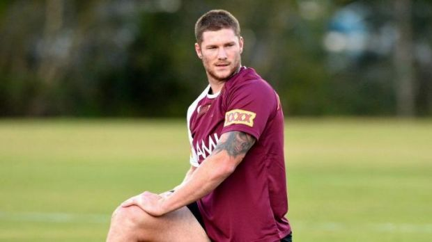 Queensland forward Chris McQueen.
