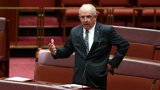 Senator Williams: Ignoring ''age of entitlement'' mantra.