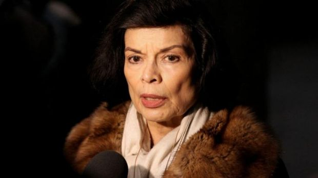 Proud great-grandparent ... Bianca Jagger, Mick Jagger's first wife, now works as a human rights advocate.