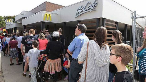 McDonald's new Tecoma store