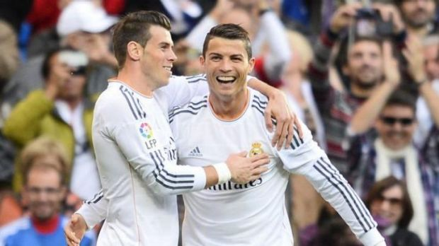 Gareth Bale, left, and Cristiano Ronaldo are among Real's injury concerns.