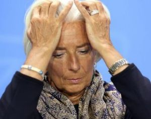 'Imperialism and patriarchy': Christine Lagarde of the International Monetary Fund.