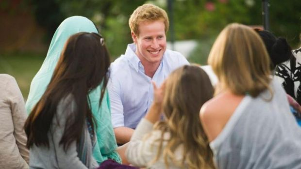 Prince charming or wolf in prince's clothing? ... <i>I Want to Marry Harry</i> may be trying to dupe young ladies but ...