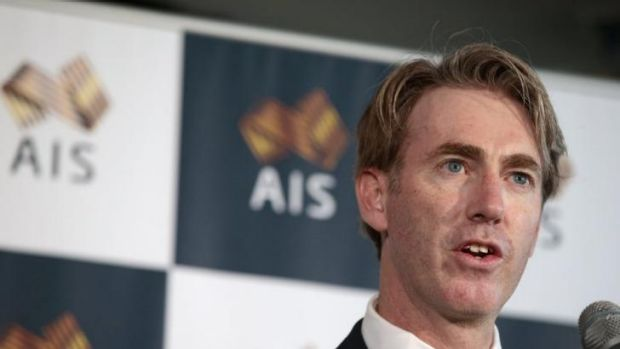 Australian Sports Commission CEO Simon Hollingsworth.