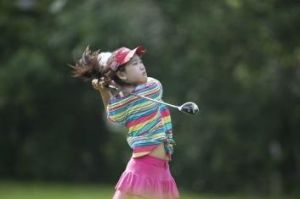 The young and the restless: Eleven-year-old Lucy Li.
