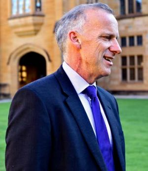 Dr Michael Spence: 'I want the best students, not only those who can afford to pay.'
