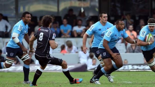 Still deserving: Waratahs assistant coach Nathan Grey hopes the Wallabies stick with Kane Douglas (right).