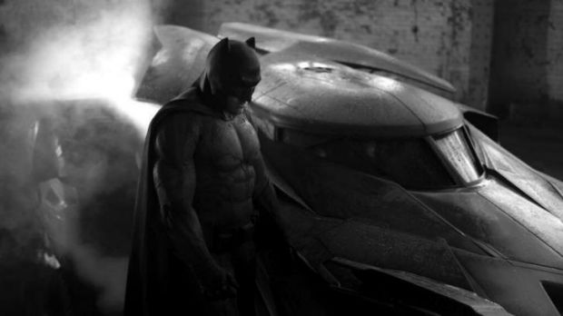 Ben Affleck as Batman in upcoming movie <i>Batman v Superman: Dawn of Justice</i>.