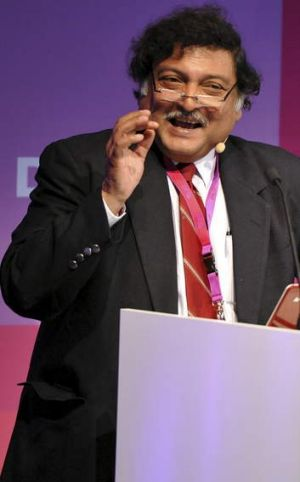Clouds on the learning horizon: Education theorist Sugata Mitra says children can teach themselves from computers.