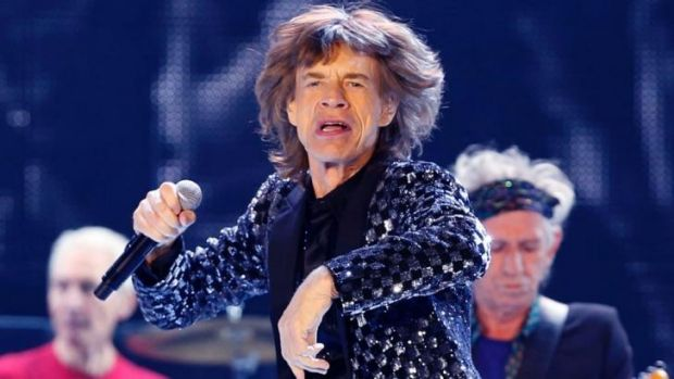 Rock legend ... Mick Jagger performs with the Stones at the Tokyo Dome earlier this year.