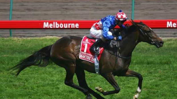 Big shoes to fill: Legendary three-time Melbourne Cup winner Makybe Diva.