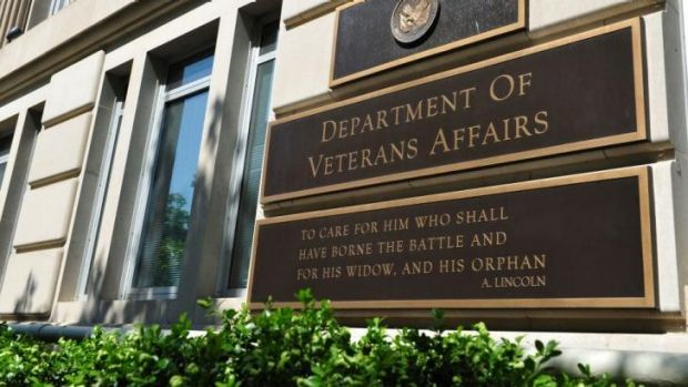 Under fire: The Department of Veterans Affairs in Washington.