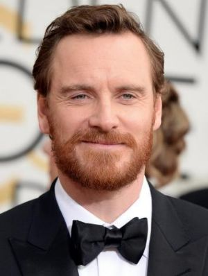 Actor Michael Fassbender.