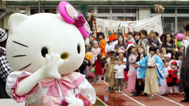 The Hello Kitty character remains hugely popular in Japan.