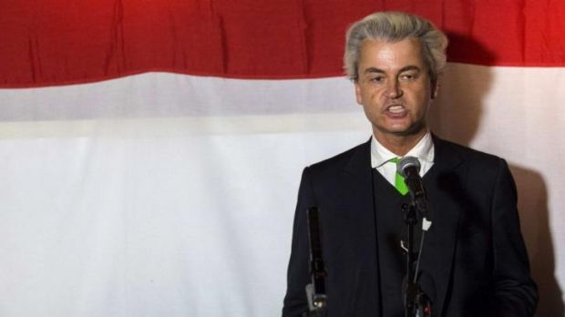 Geert Wilders'  far-right Party of Freedom did not perform as well as forecast in  the Netherlands, exit polls showed.