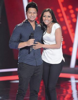 The Voice Australia: Julian Simonsz (with his girlfriend).