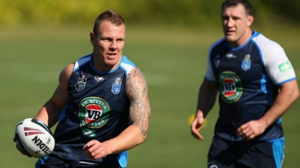Luke Lewis says the professionalism within the Blues camp has surprised him.